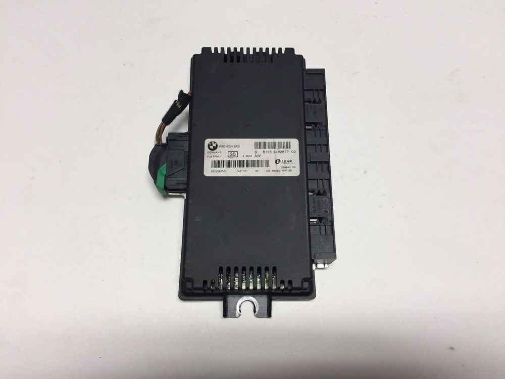09 Mini Cooper Multifunction Module 6135 3452677 Body