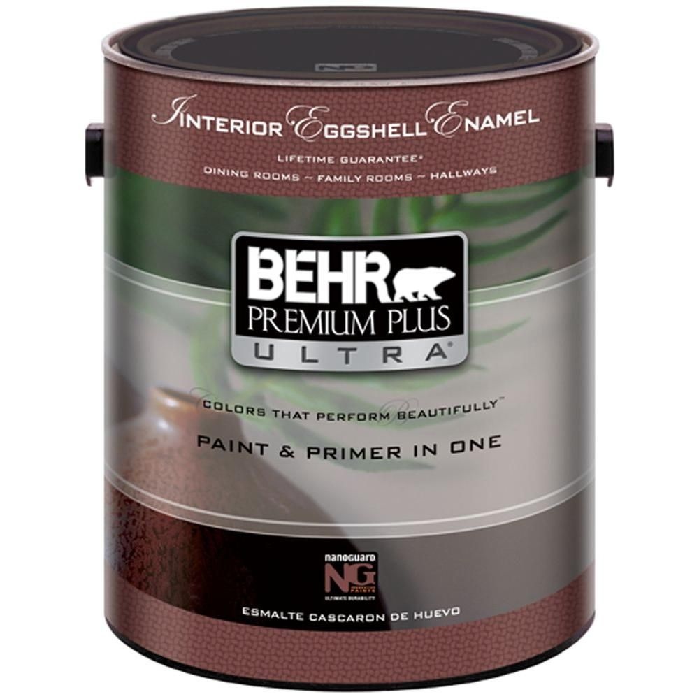 Behr Premium Plus Ultra 1 Gal Pure White Products Behr