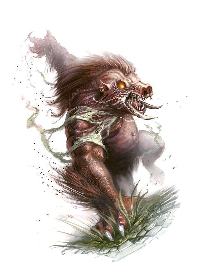 Were Boar By Scottpurdy On Deviantart Mythological Creatures Mythical Creatures Fantasy Creature Art