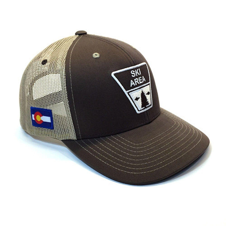 54714feab9a2e Ski Area Sign Colorado Trucker Hat - CV184AIC4N3 - Hats   Caps