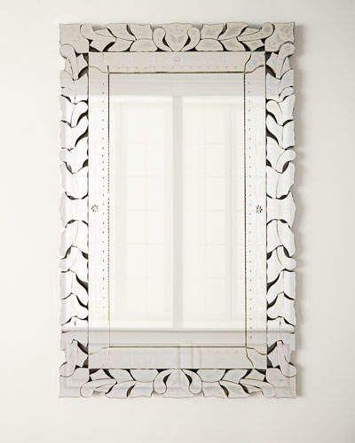 Rectangular Venetian Mirror Venetian Mirrors Wall Mirrors Rectangular Venetian Wall Mirror