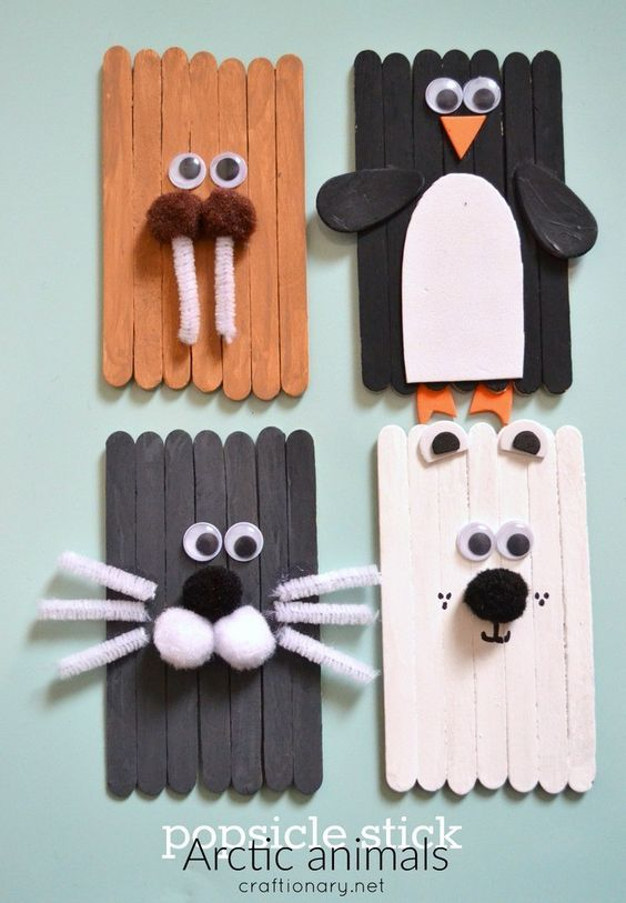 Photo of Ice cream sticks ideas; examples tinkering with craft sticks for inspiration – Mamaliefde.nl