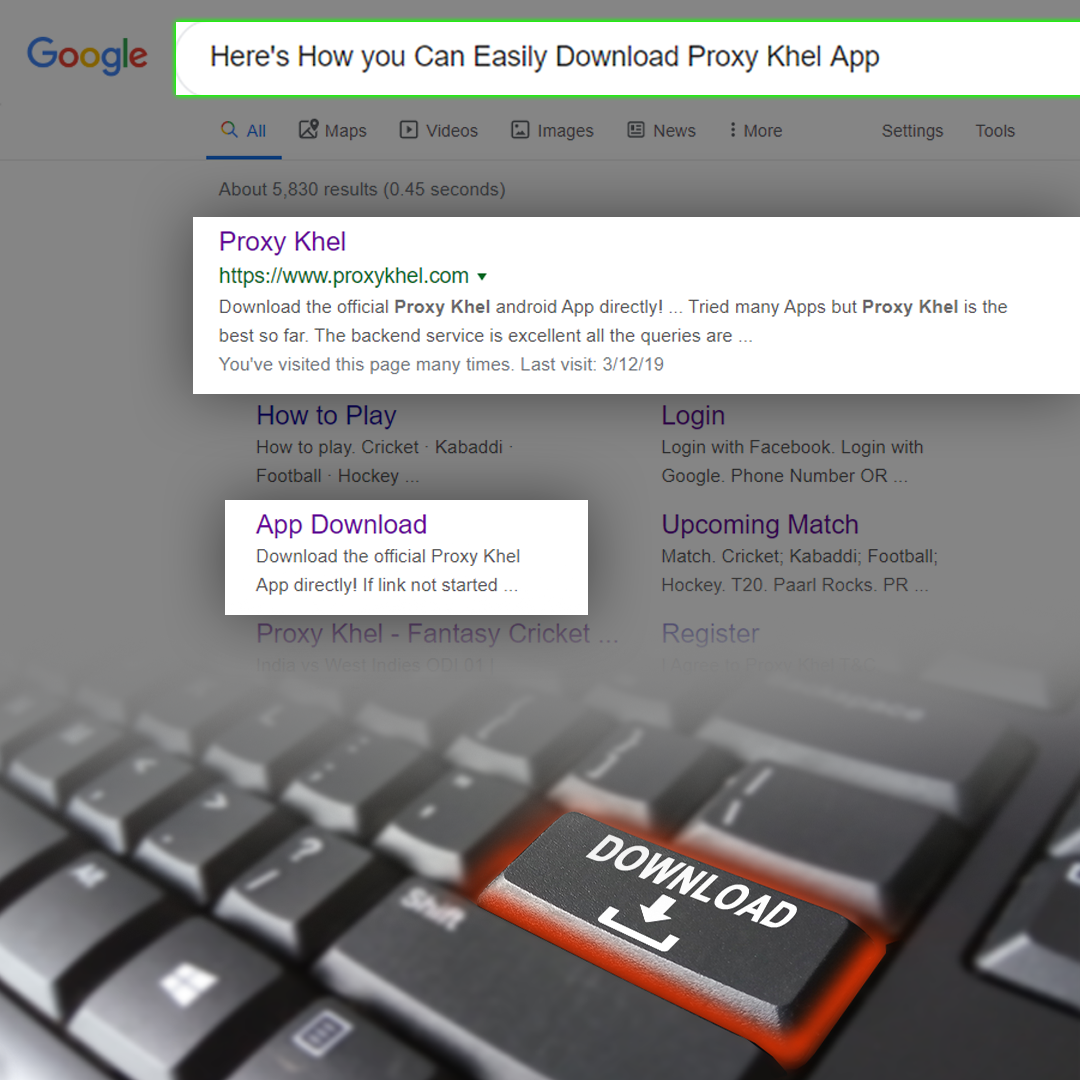 Here S How You Can Easily Download The Proxy Khel App App Maps Video Android Apps