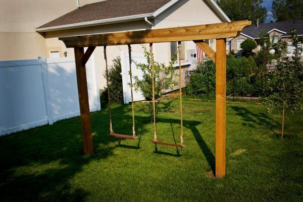 The Stand Alone Swings Outside Backyard Swing Sets