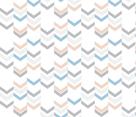 Sailor Boy Chevrons fabric by fridabarlow on Spoonflower - custom fabric, wallpaper, gift wrap