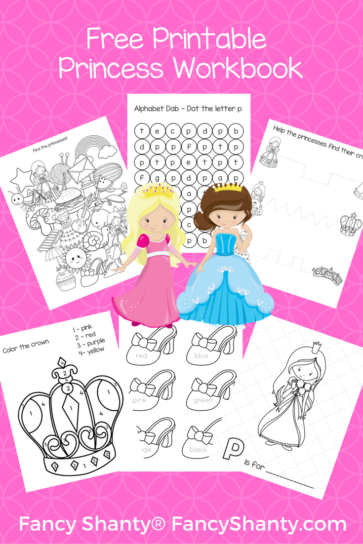 this free preschool workbook download is packed with 17 pages of