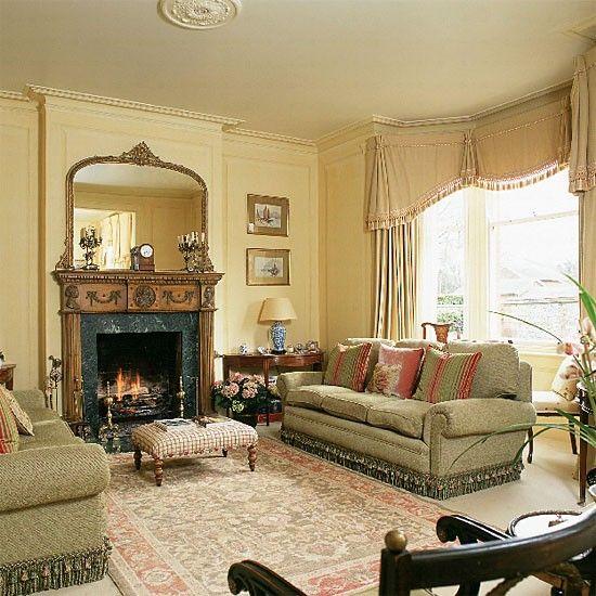 Traditionelles Wohnzimmer Wohnideen Living Ideas Interiors - landhaus wohnzimmer