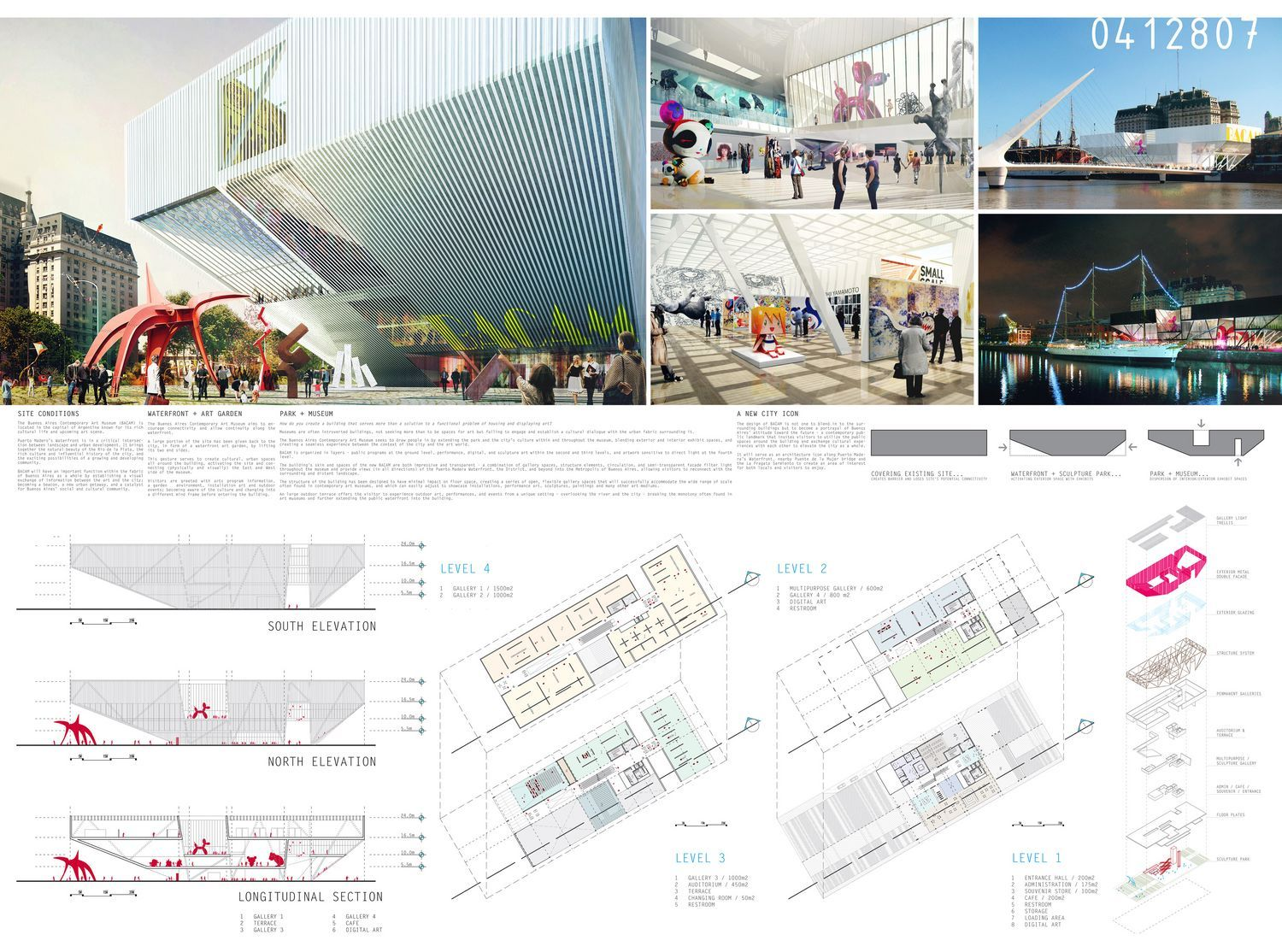 Buenos Aires New Contemporary Art Museum Competition