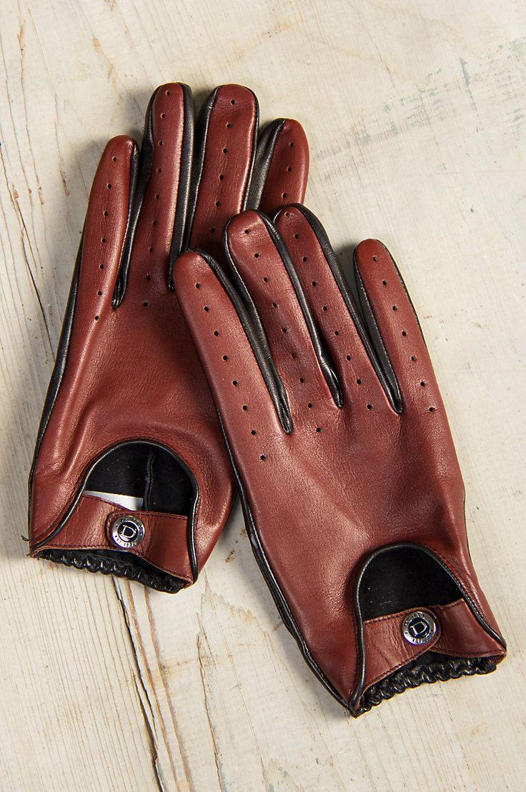 Red leather driving gloves mens - Men S Dents Woburn Lambskin Leather Driving Gloves