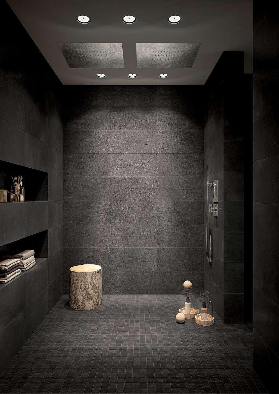 Tendenze bagno 2017 nel 2019 bagni dark bathrooms bathroom e concrete bathroom - Tendenze bagno 2017 ...
