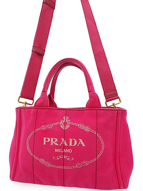 f0da1f557b6d04 ... low cost details about prada auth tote bag mini canapa cute pink ladies  free shipping excellent