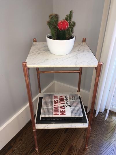 Beautiful handmade side table.