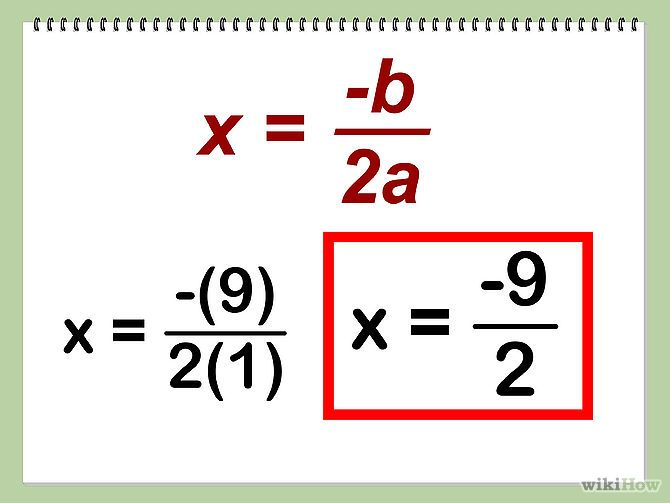 Find The Vertex Of A Quadratic Equation Pinterest Equation And