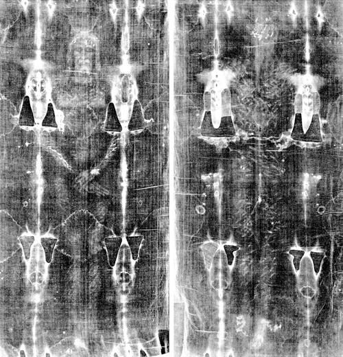 Image result for shroud turin front and back
