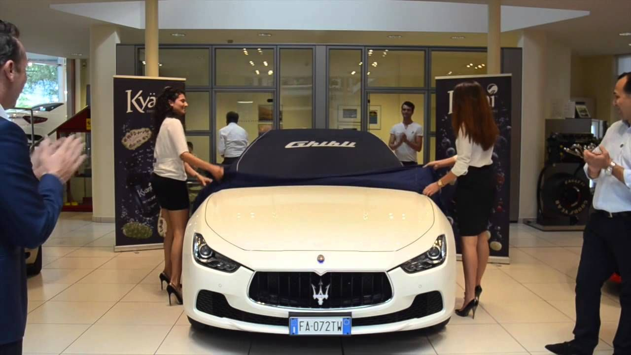 Kyani Dream Car Program Diamond Paolo Morresi Maserati Youtube