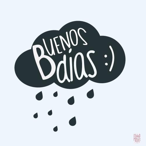 Buenos Dias Lluviosos Lluvia Good Morning Rainy Frases De
