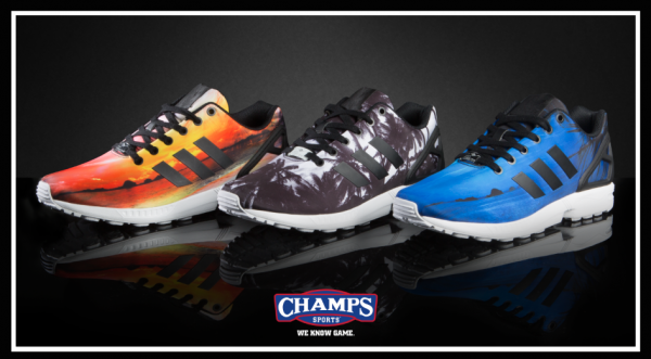 "lowest price 06acd 8e57c Cop the Champs Sports Exclusive adidas ZX Flux ""Sunset"" Pack ..."