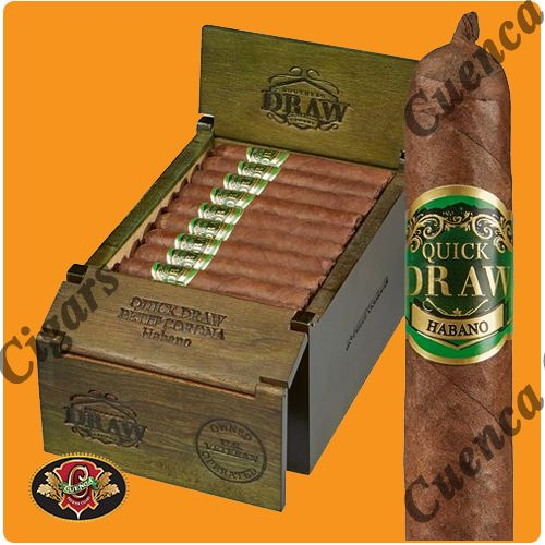Southern Draw Quickdraw Habano Short Panetela Cigars - Natural Box of 25 - Best Online prices Southern Draw Quickdraw Habano Short Panetela Cigars - Natural Box of 25 at Cuenca Cigars. Shop Southern Draw Cigars receive FREE SHIPPING on orders over $199. Latest addition to the acclaimed Southern Draw Cigars line. Using a Ecuadorian Dark Habano wrapper and Binders and f..Price: $129.90