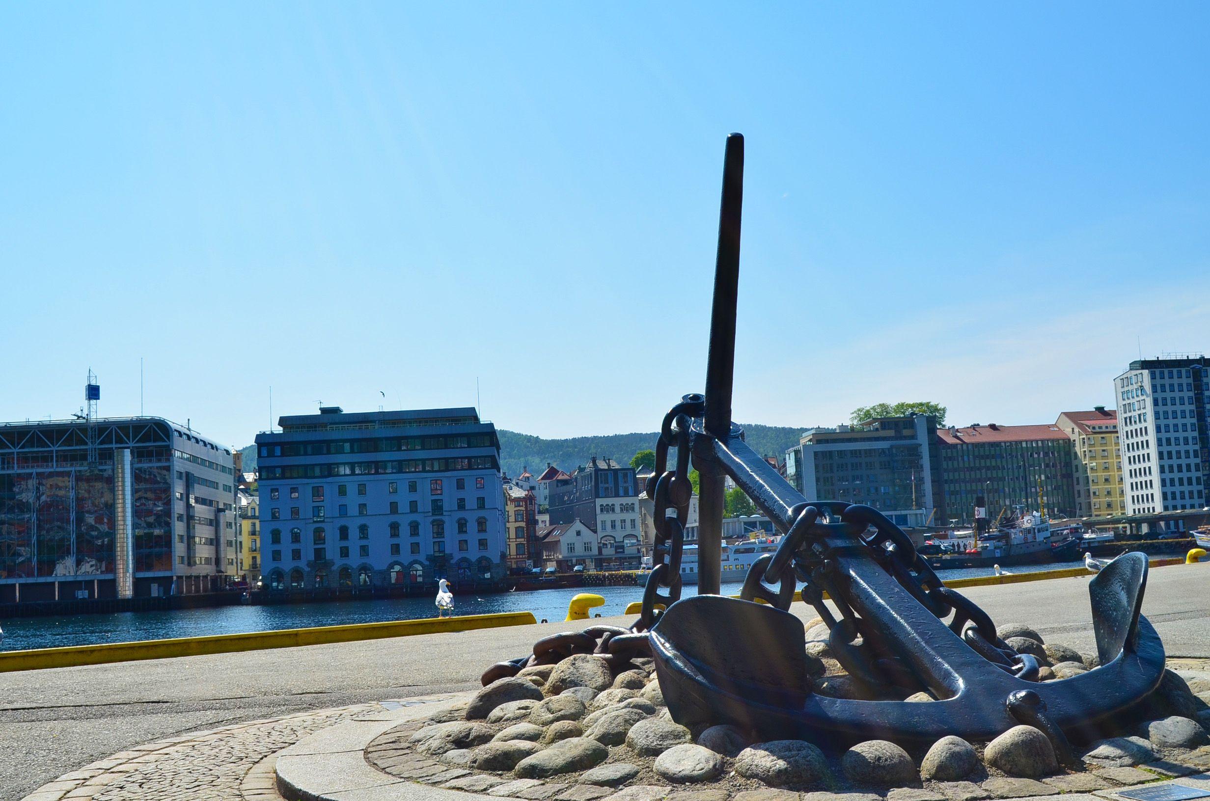 Muelle de Bryggen, Bergen