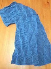 Asherton Reversible Scarf Pattern By Smariek Knit Scarves Shawls