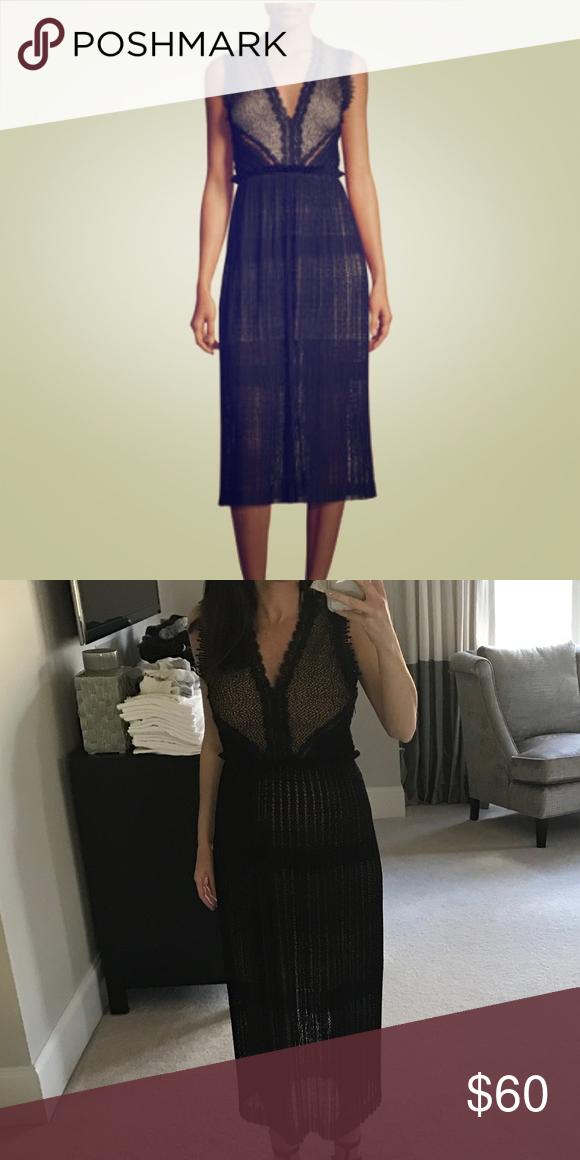 9078b9e59ac8 Alexis Lace Midi Dress