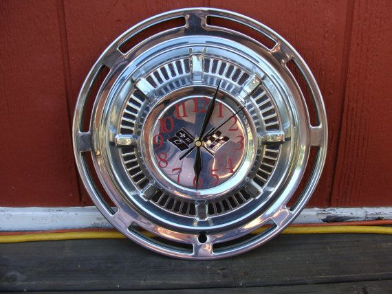 Man Cave Garage Clocks : Mechanics wall clock tire shape man cave garage decor
