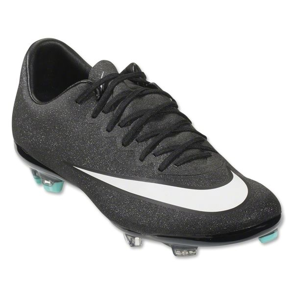 premium selection 7d8c9 6f6a3 Nike Mercurial Vapor X CR FG Junior (Black/White/Hyper Turquoise) CR7!  Merry Christmas Zach