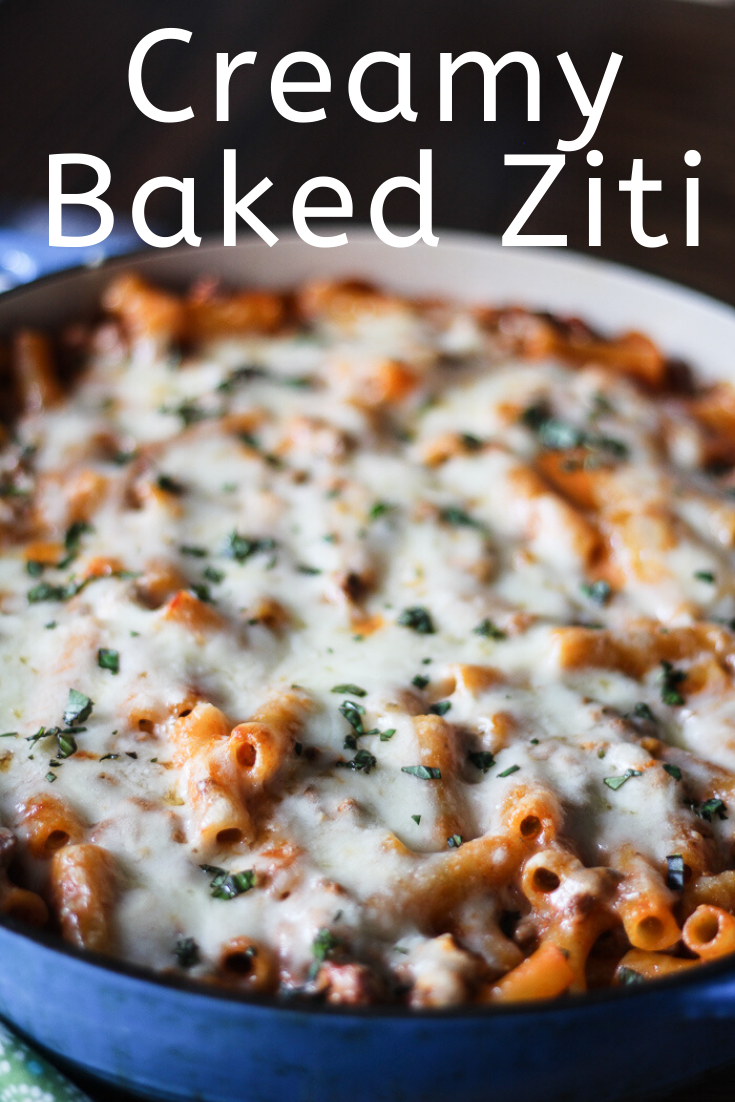 Creamy Baked Ziti Jen Around The World Recipe Ziti Recipes Baked Ziti Yummy Pasta Recipes