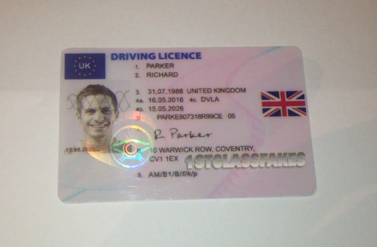 Super high quality fake UK driving licence from 1stclassfakes dot ...