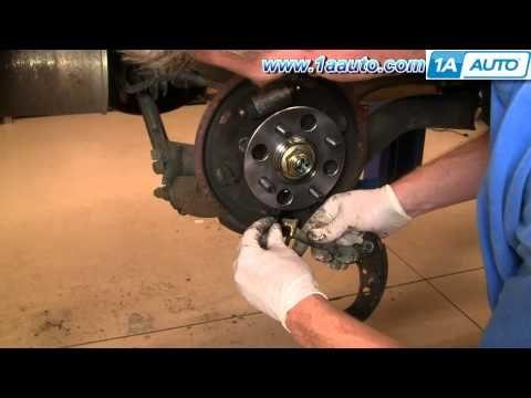 How To Install Replace Rear Drum Brakes Honda Civic 01 05 1aauto Com Repair Manuals Honda Civic Repair