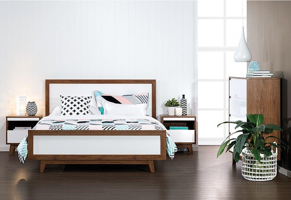 andi 4 piece queen bedroom suite super amart chamber de foret lits de reve