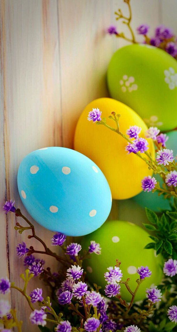 Easter Egg Wallpapers | Праздничные открытки, Роспись ...