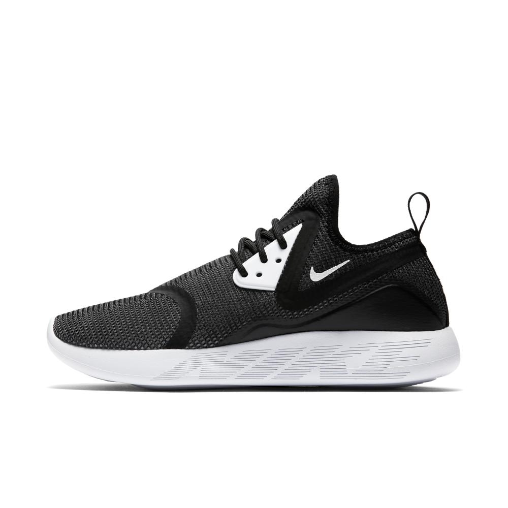 new product 1c786 ddb8d Nike LunarCharge Breathe Women's Shoe Size 9.5 (Black) - Clearance Sale