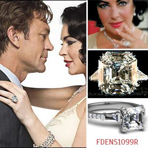 Most Memorable Celebrity Engagement Rings of All Times Elizabeth