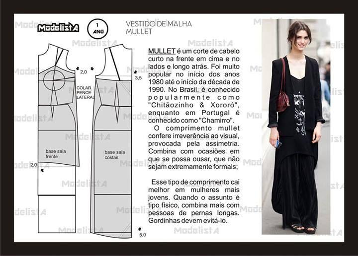 ModelistA | Q_Costuras y patrones. | Pinterest | Patrones, Costura y ...