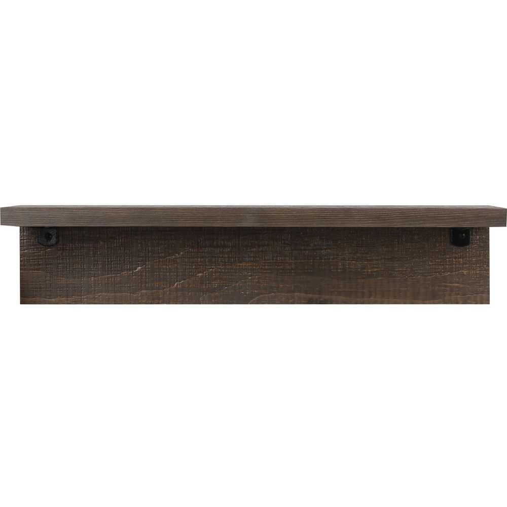 Brown 6 Inch X 24 Inch Shelf 6x24 Wood Shelve 6 X 24 Artmaison Canada Shelves Home Goods Store Wood