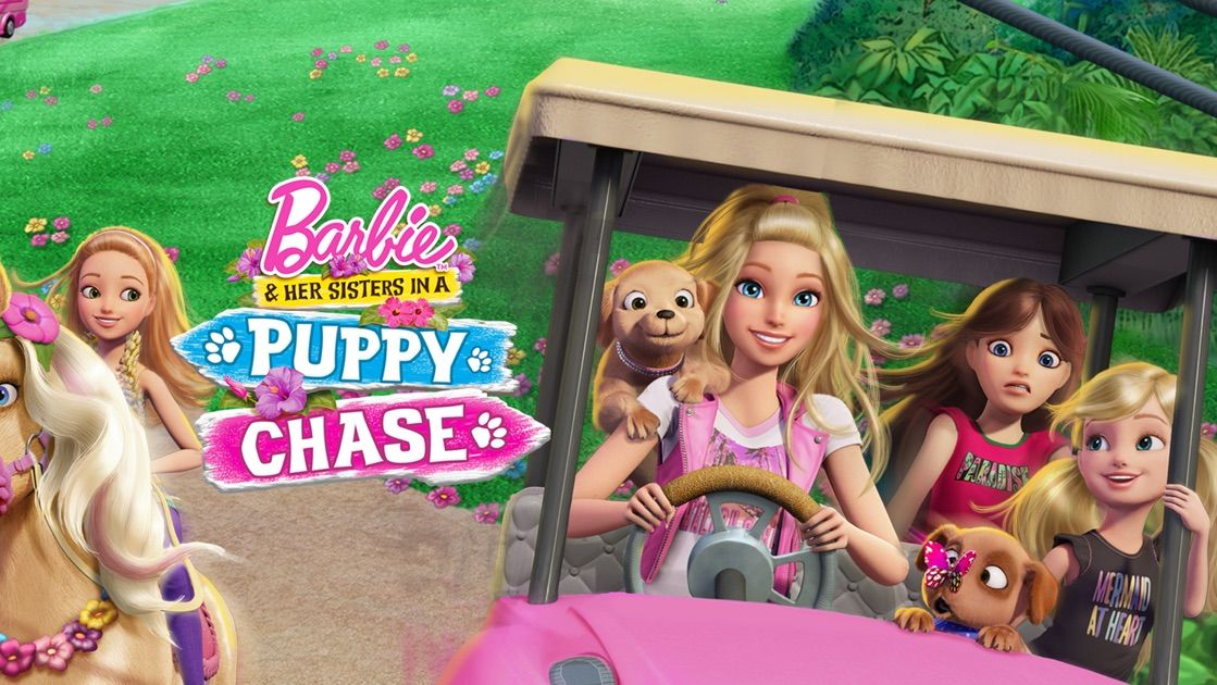 Barbie Her Sisters In A Puppy Chase On Apple Tv Barbie And Her Sisters Barbie Sisters