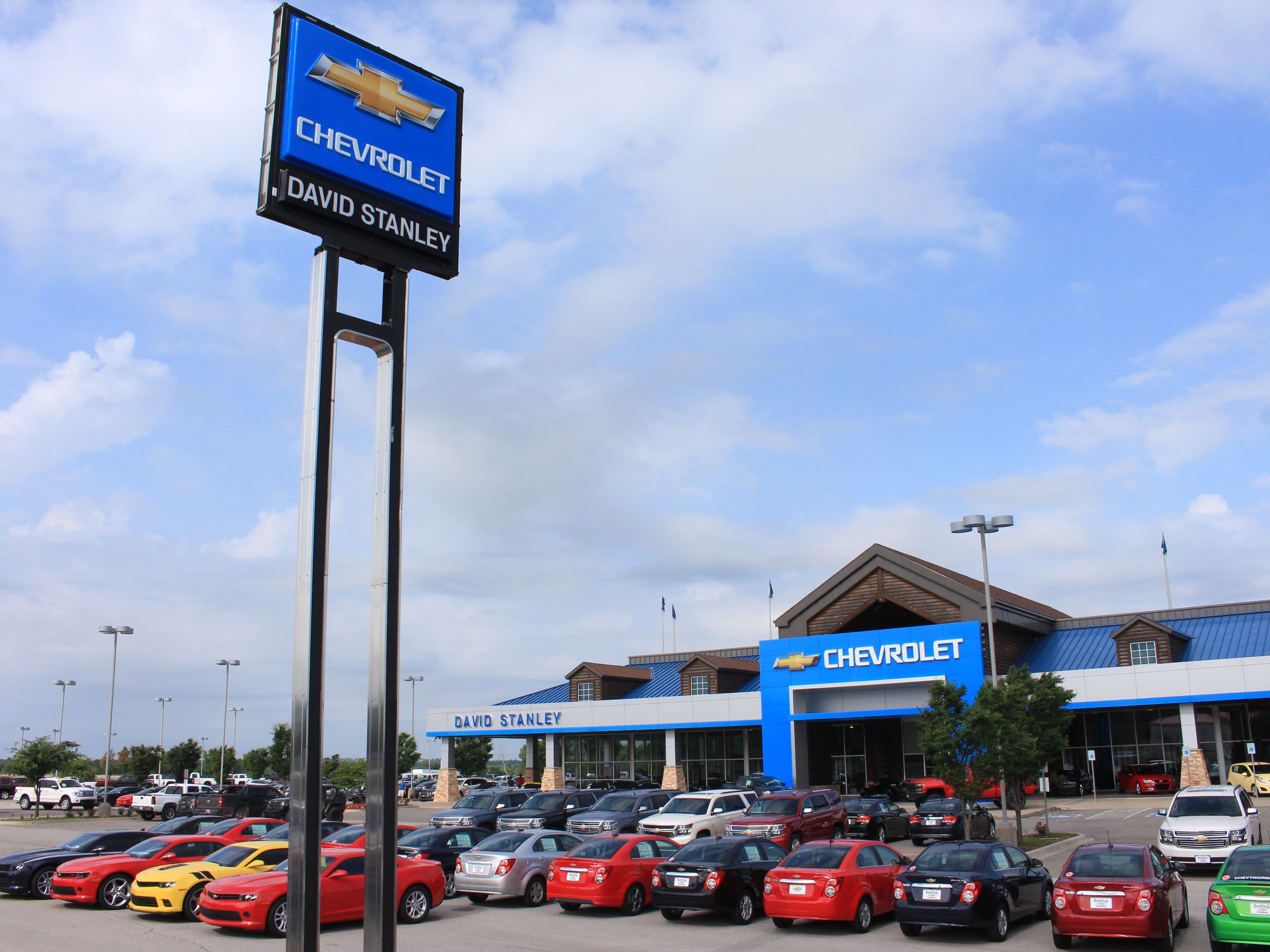 David Stanley Chevrolet Of Normanu0027s 70,000 Sq Ft Showroom Sits Atop 14  Acres With Over 1,000 Retail Vehicles To Choose From.