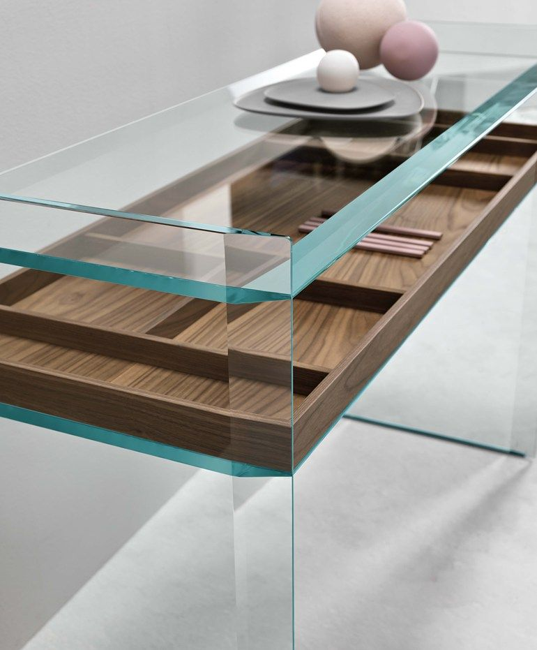 Glass Console Table Quiller Console Table T D Tonelli Design Glass Furniture Glass Console Table Designer Console Table