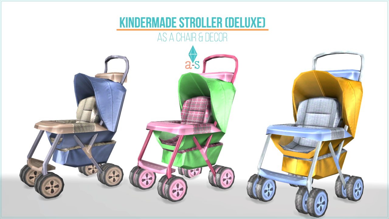 3 3t4 Kindermade Strollers Deluxe More Details