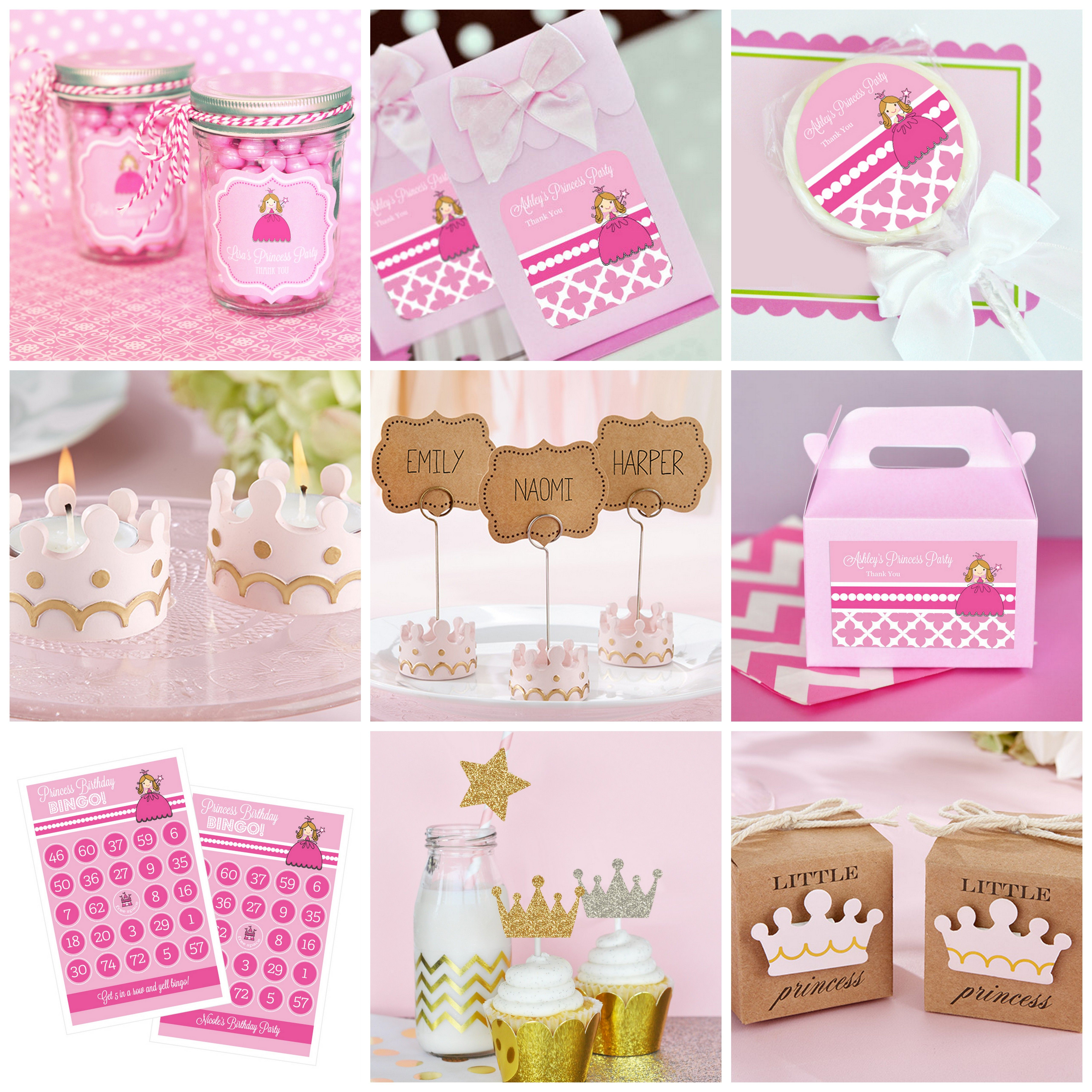 Little Princess Baby Shower Party Favors from