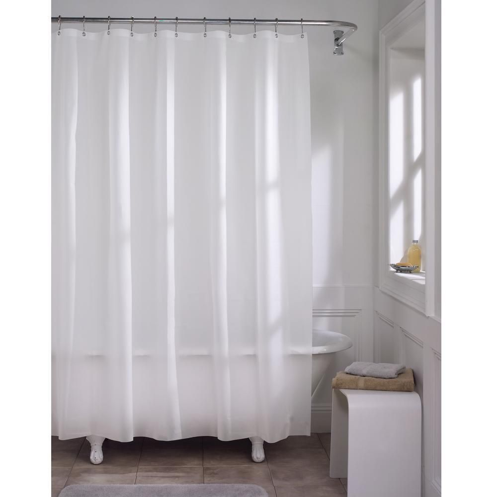 The Steamy Liner Vinyl Shower Curtains Shower Liner Fabric Shower Curtains