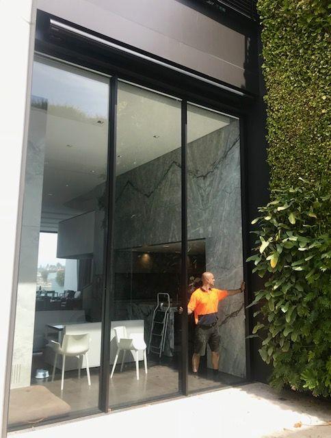 tamarama tall sliding glass doors