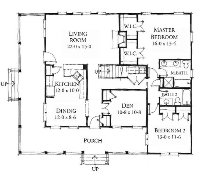 Allison Ramsey Architects Floorplan For The Inlet
