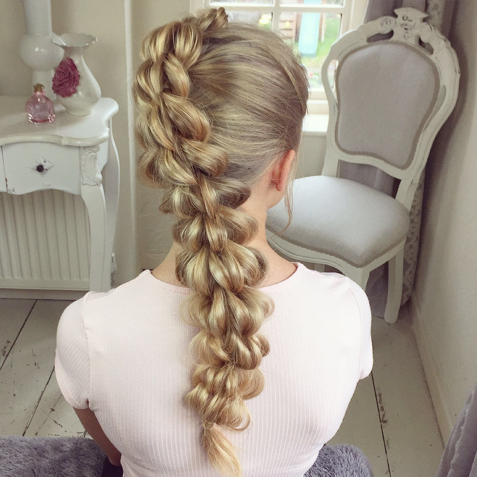 The Four Strand Pull Through Braid By SweetHearts Hair Design - Long hairstyle design pics