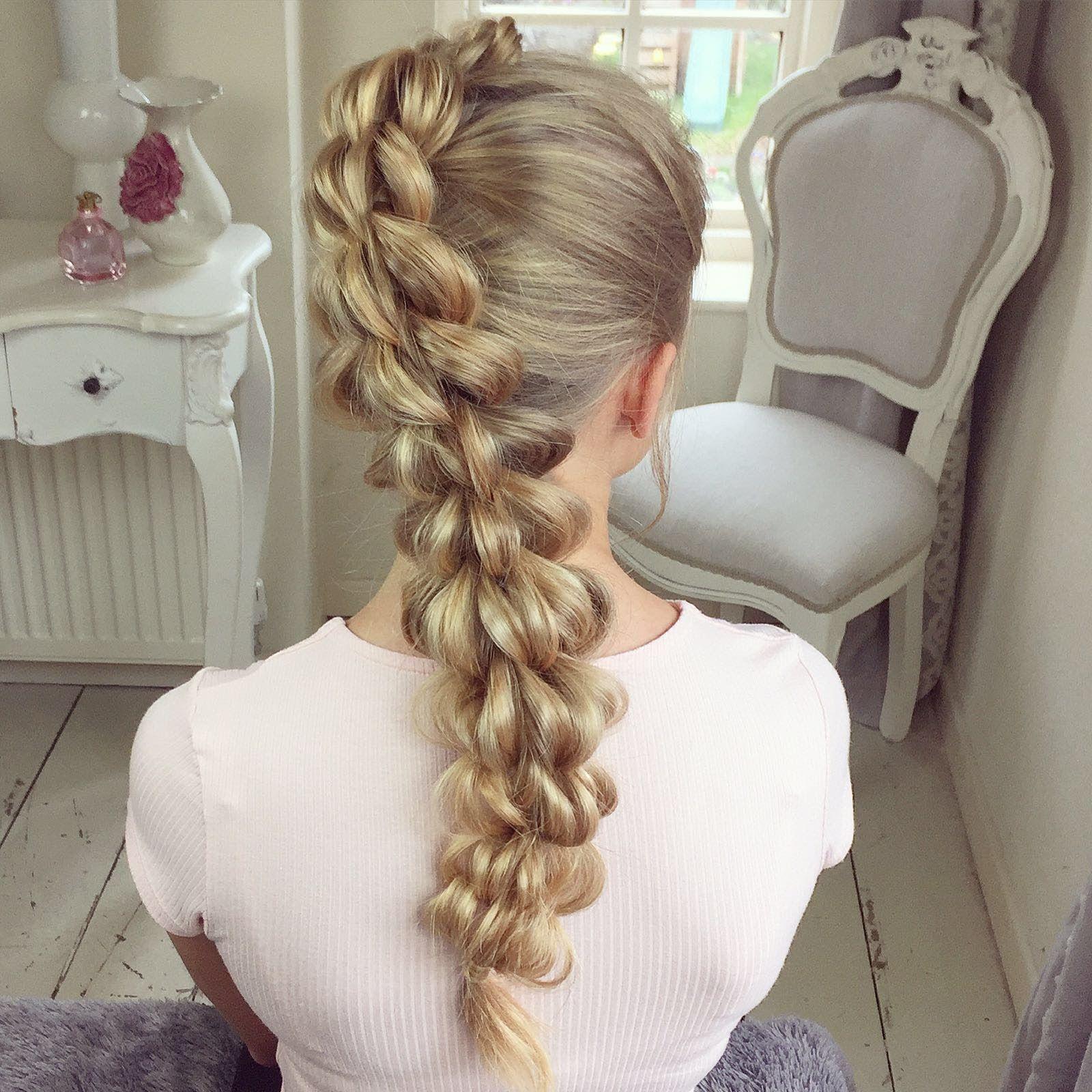 four strand pull braid