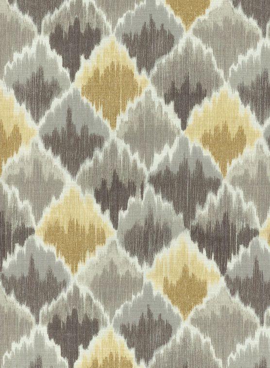 Home Decor Print Fabric- Waverly Baroque Bargello Shale