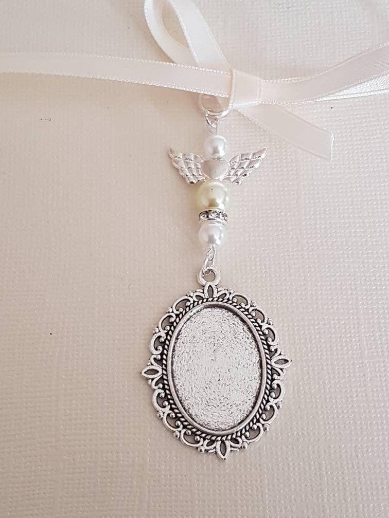 Wedding Bouquet Charm Bouquet locket Photo Frame Charm Oval ...