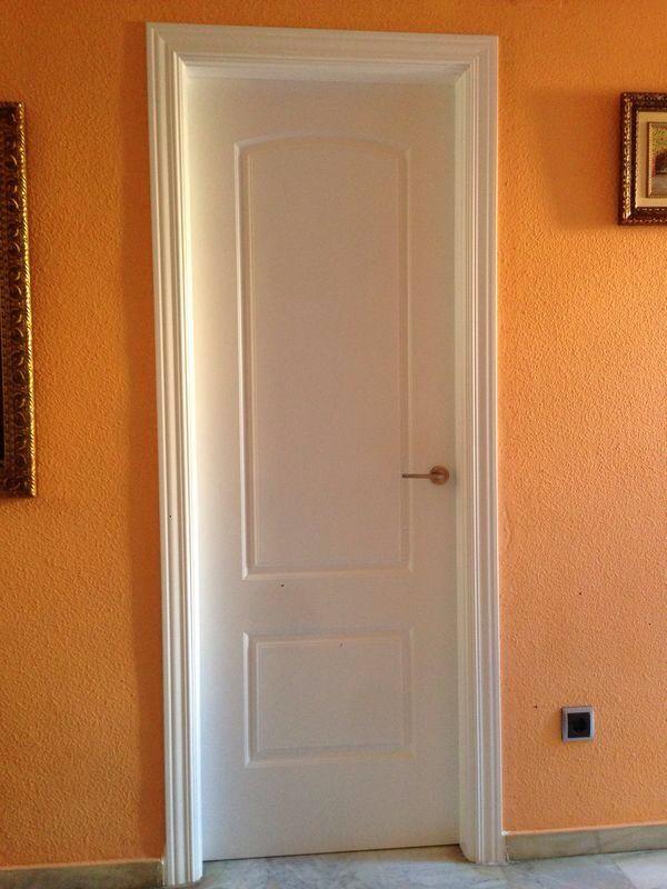 Vasari lacada en blanco puertas lacadas en blanco for Puertas minguela