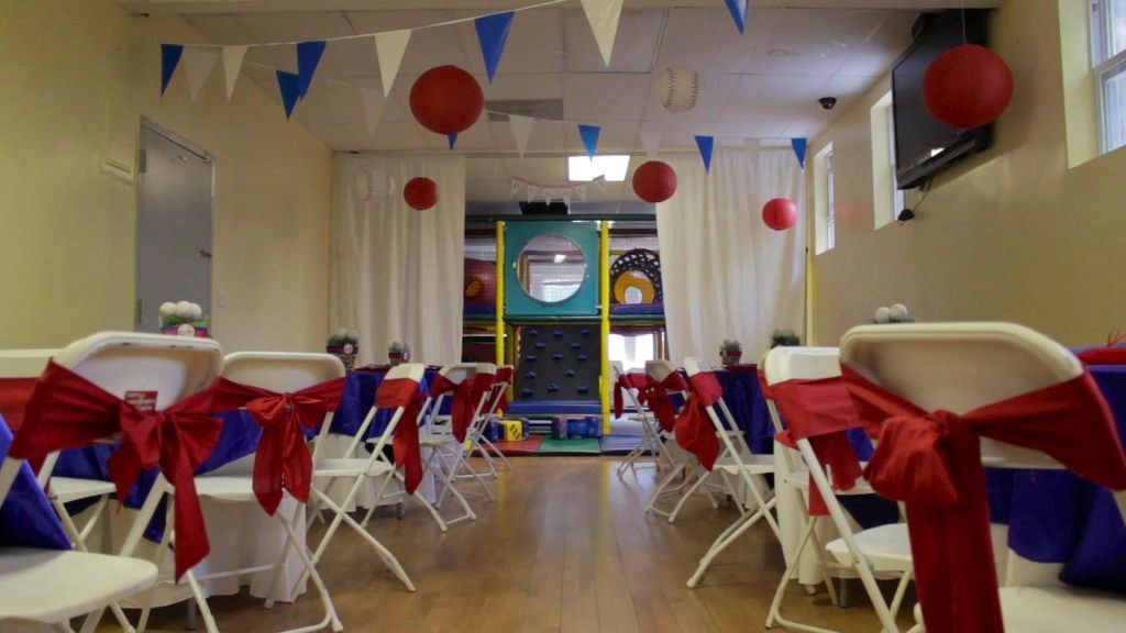 Baseball Theme Party Room Decor Childrens Play Area In